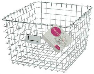 Chrome Wire Storage Basket