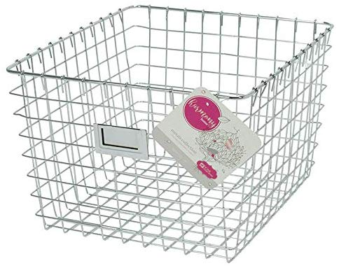 Spectrum Vintage Medium Cabinet U0026 Wall Mount Wire Basket, ...