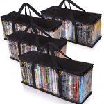DVD Storage Tote (Set Of 4)