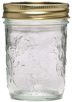 Golden Harvest Mason Regular Mouth 8oz Jelly Jar