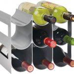 Gray Plastic Wine Organizer