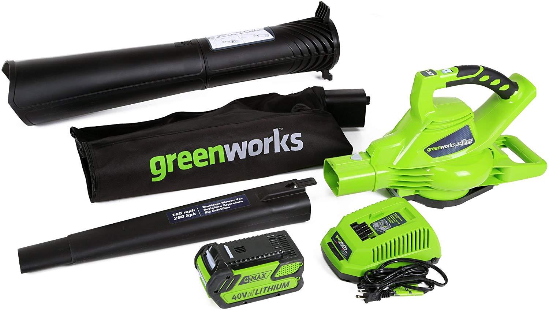 Popular Greenworks gardening tool for leaves