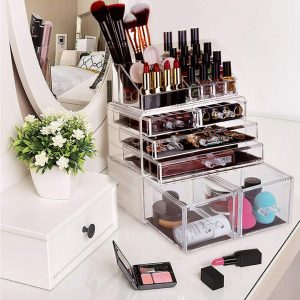 HBlife Cosmetic Organizer and Jewelry Display