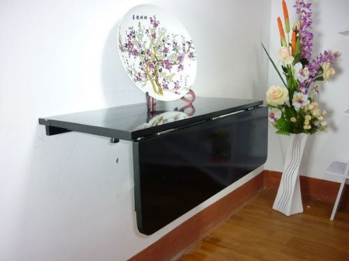 Haotian 2 Way Folding Wall Mounted Table