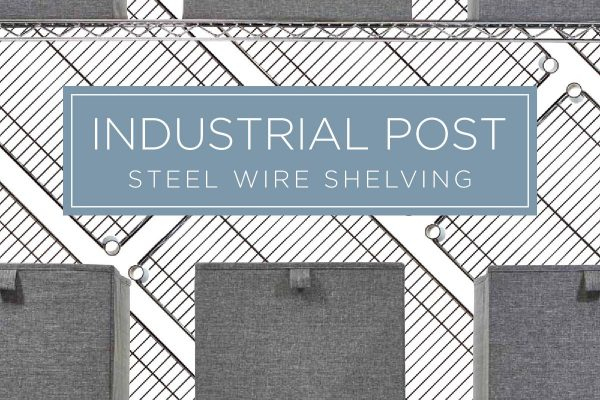 Industrial Post Steel Wire Shelving (Brochure)