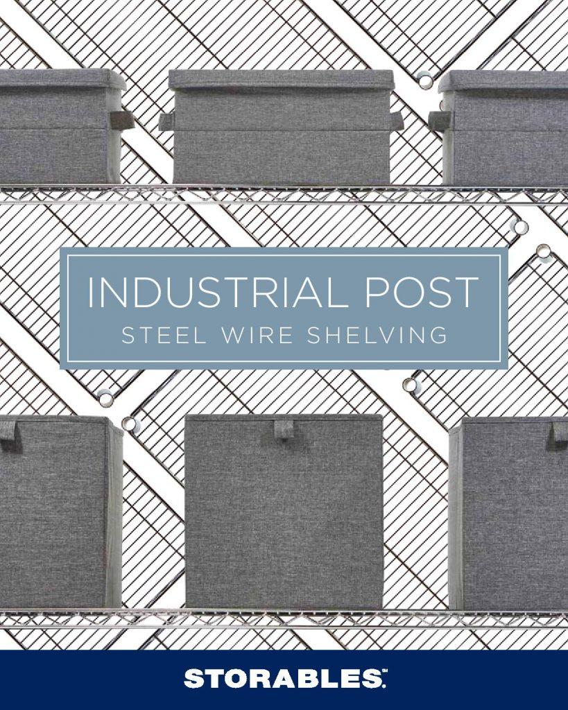 Industrial Post Steel Wire Shelving (Brochure)