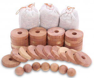 Moth Protection Cedar Blocks Combo Pack