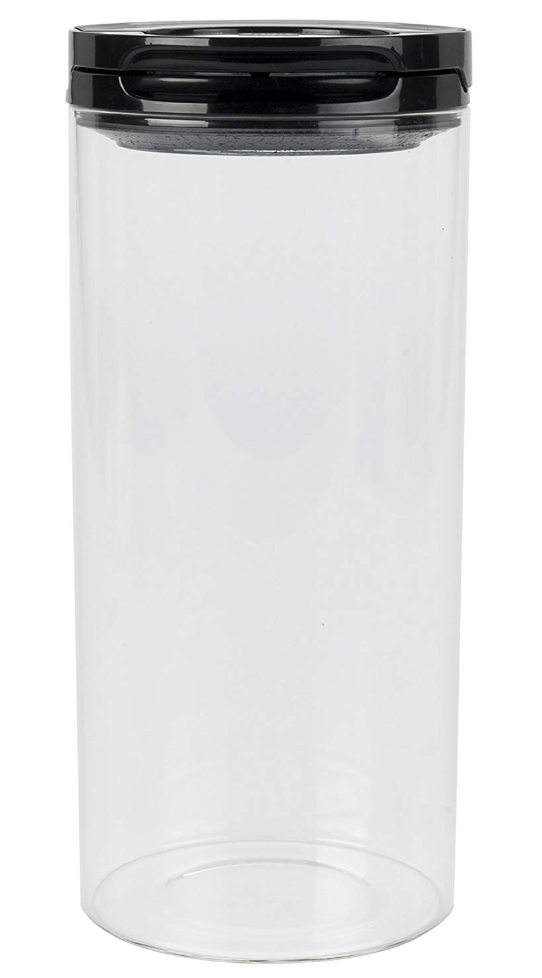 Oxo Good Grips Flip Lock Glass Canister Storables