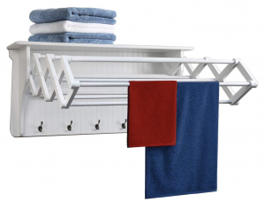 Small Accordion Drying Rack