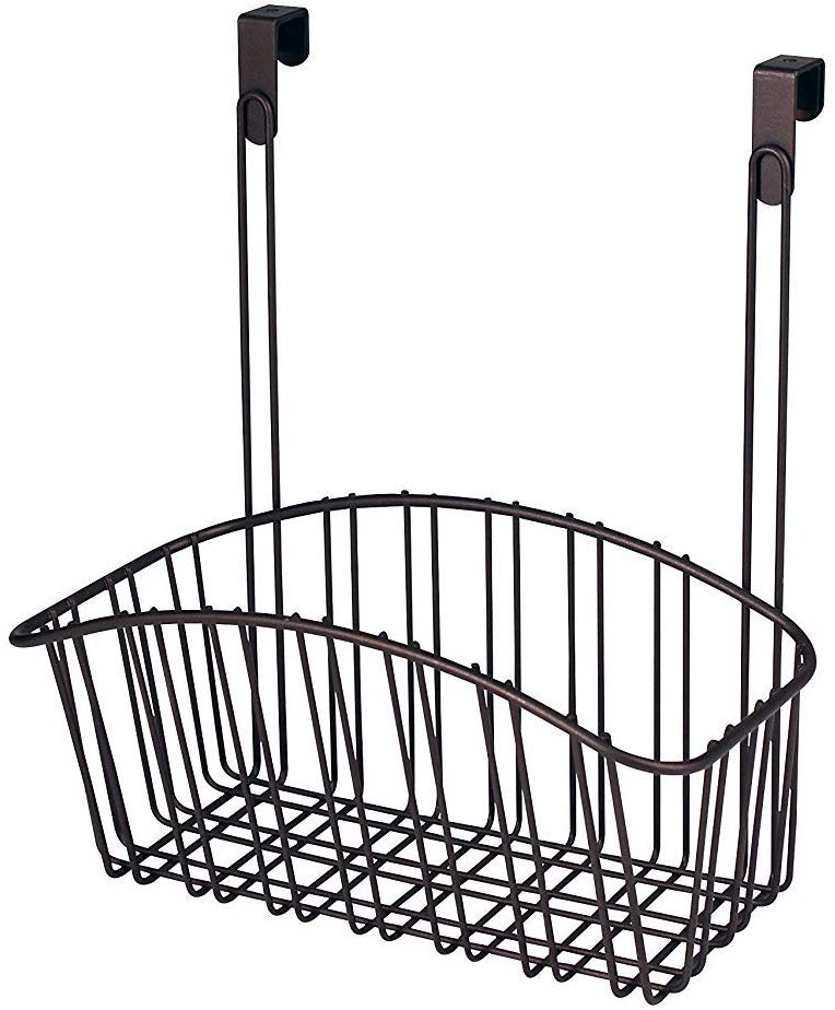 Spectrum Diversified Over The Cabinet Storage Basket (Medium)