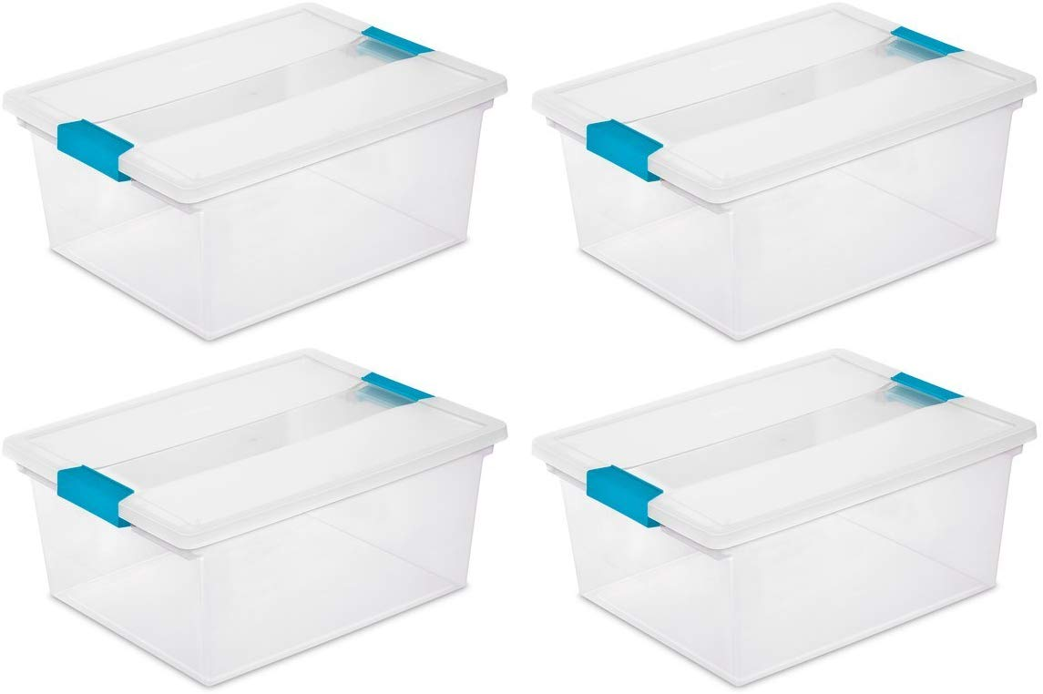 Iris Clear Clip-Lid Boxes