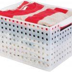 iDesign Modulon Plastic Storage Organizer Basket with Handle