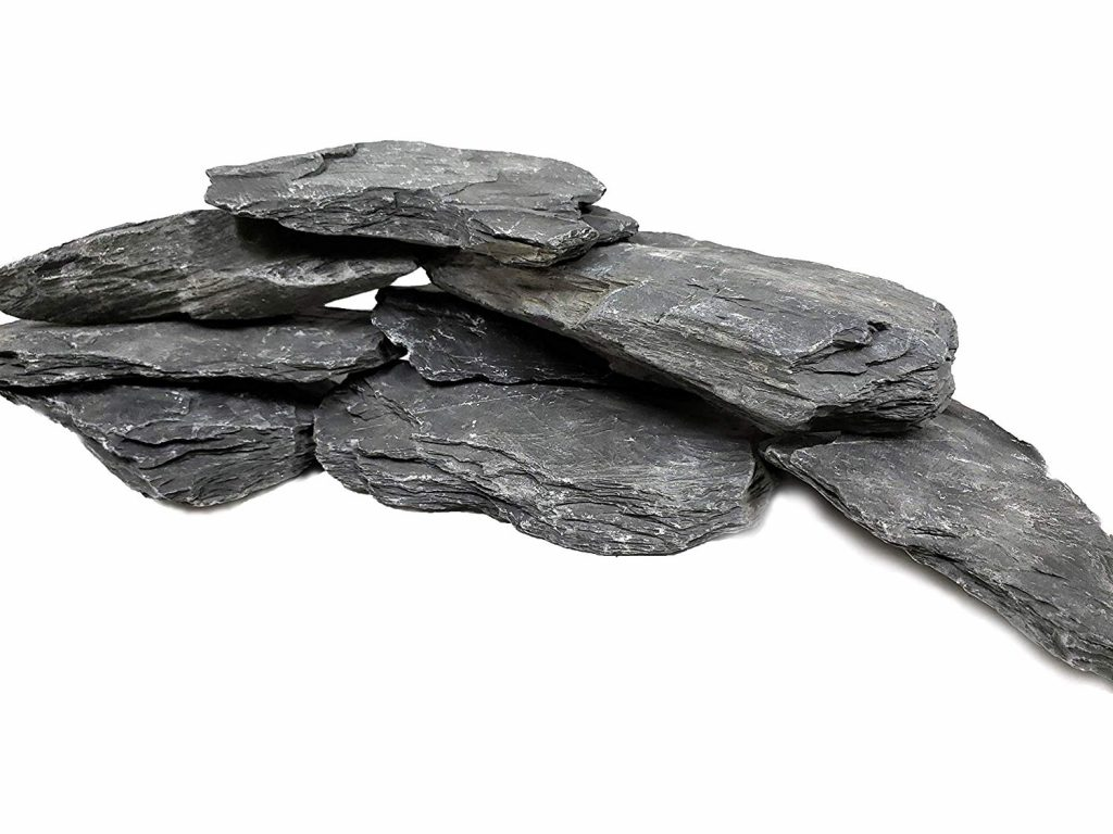 natural slate stones