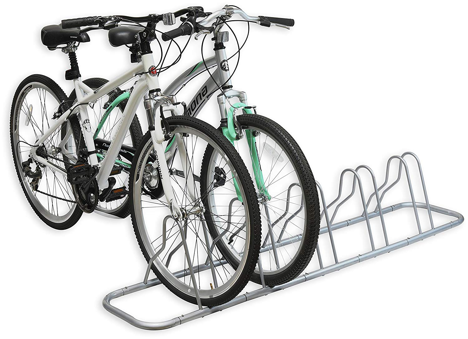 5 Bike Floor Parking Stand