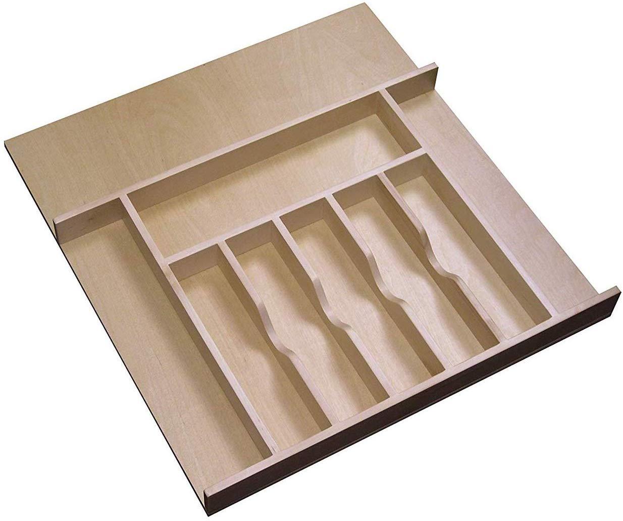 Wooden Cutlery Tray