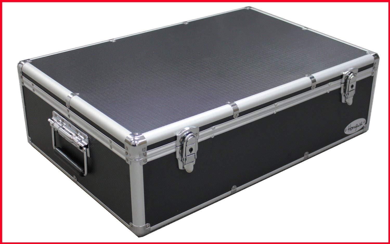 DVD Black Aluminum Hard Case