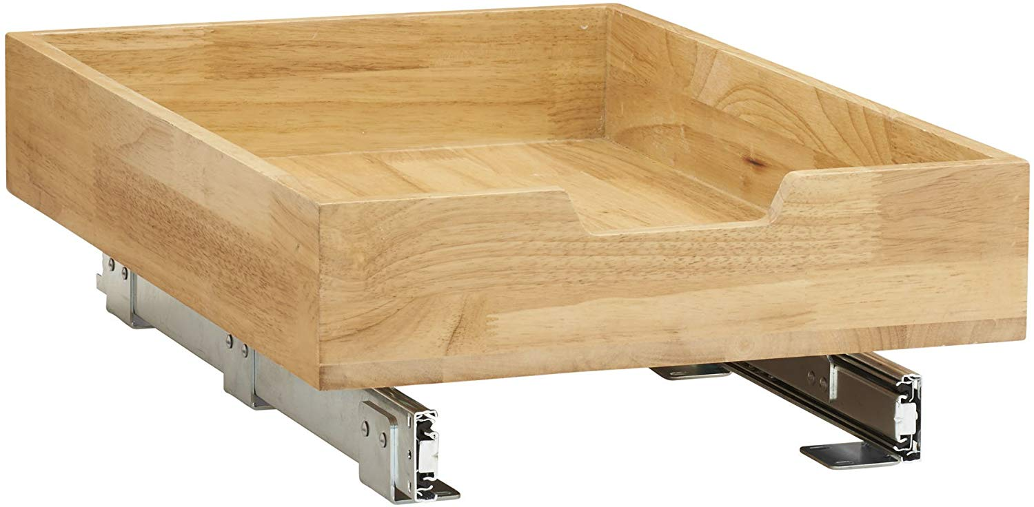 Deluxe Dovetailed Roll-Out Trays