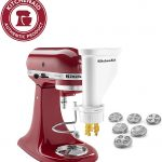 KitchenAid Mixer Pasta Press Stand-Mixer Attachment KPEXTA 6-pc Pasta spag maker