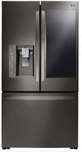 Black Stainless Counter-Depth French Door Refrigerator