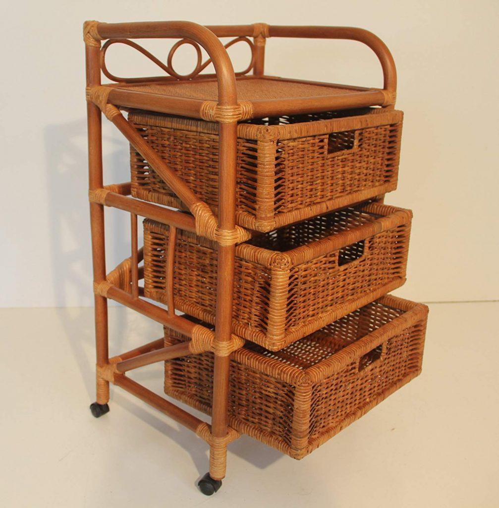 Laundry basket drawer