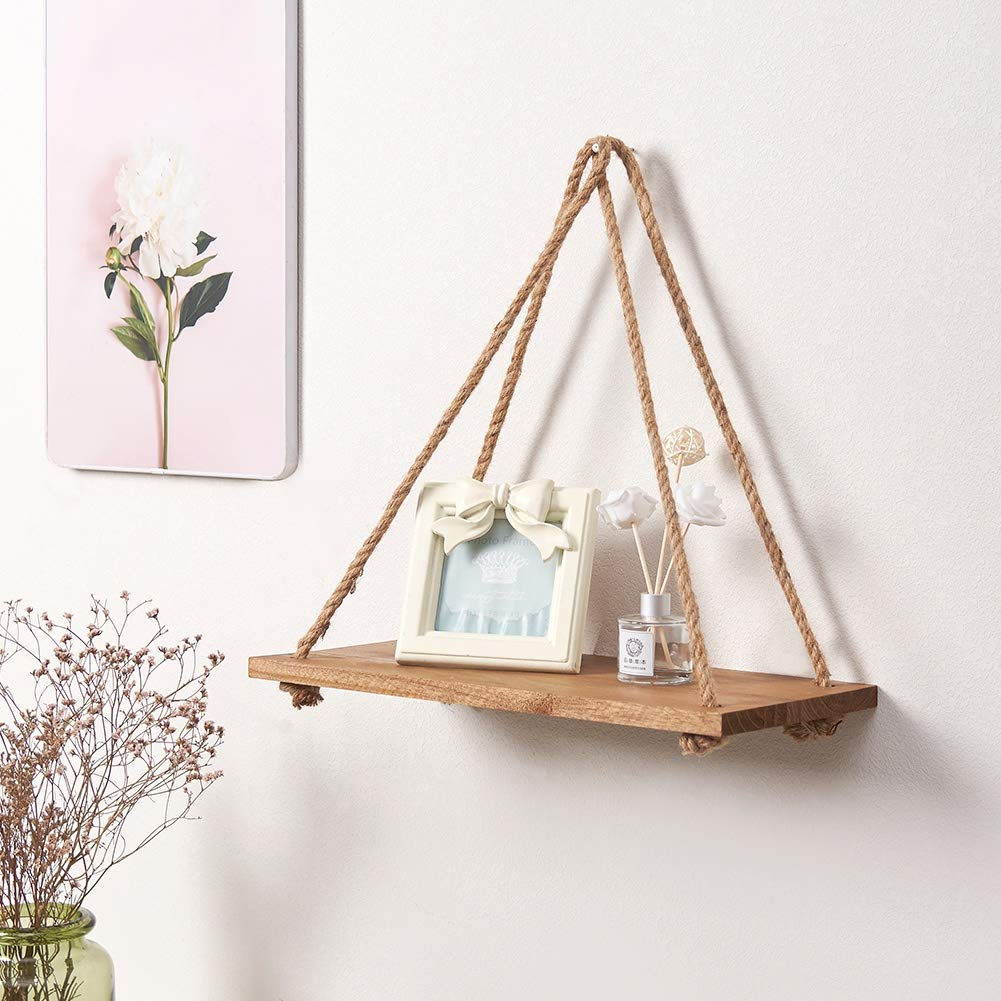 SAND MINE Wood Wall Hanging Shelf