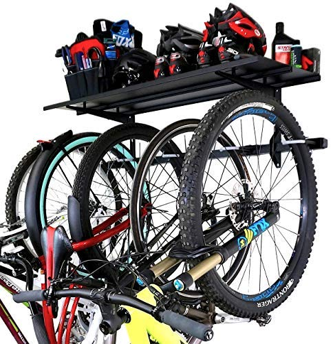 StoreYourBoard Bike Rack + Storage Shelf