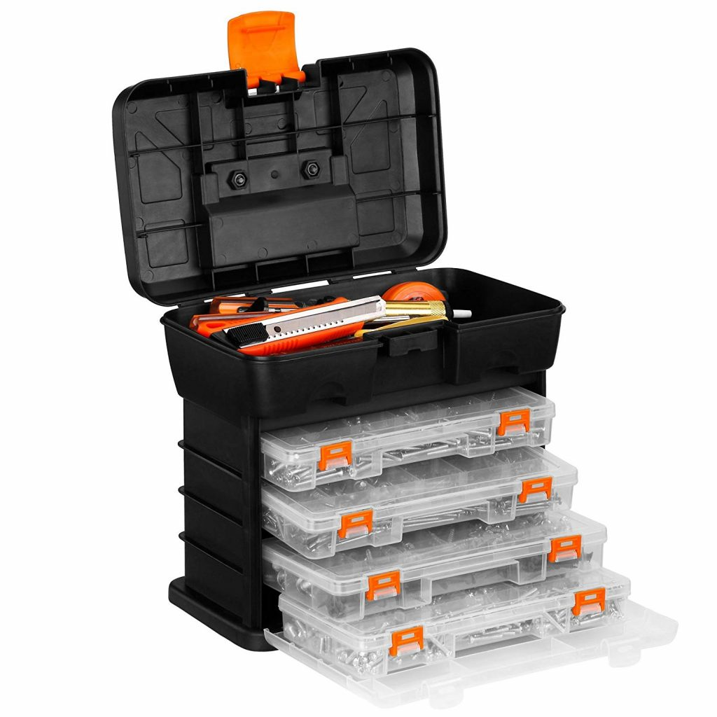 VonHaus portable tool box