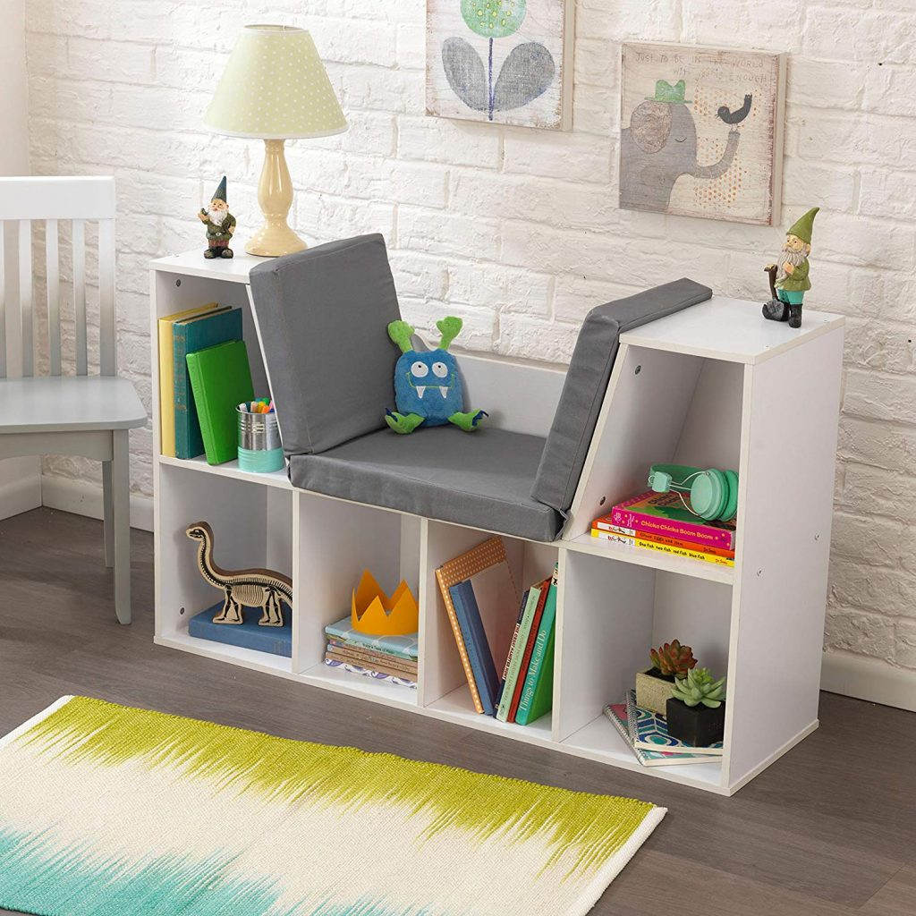 bookcase bench