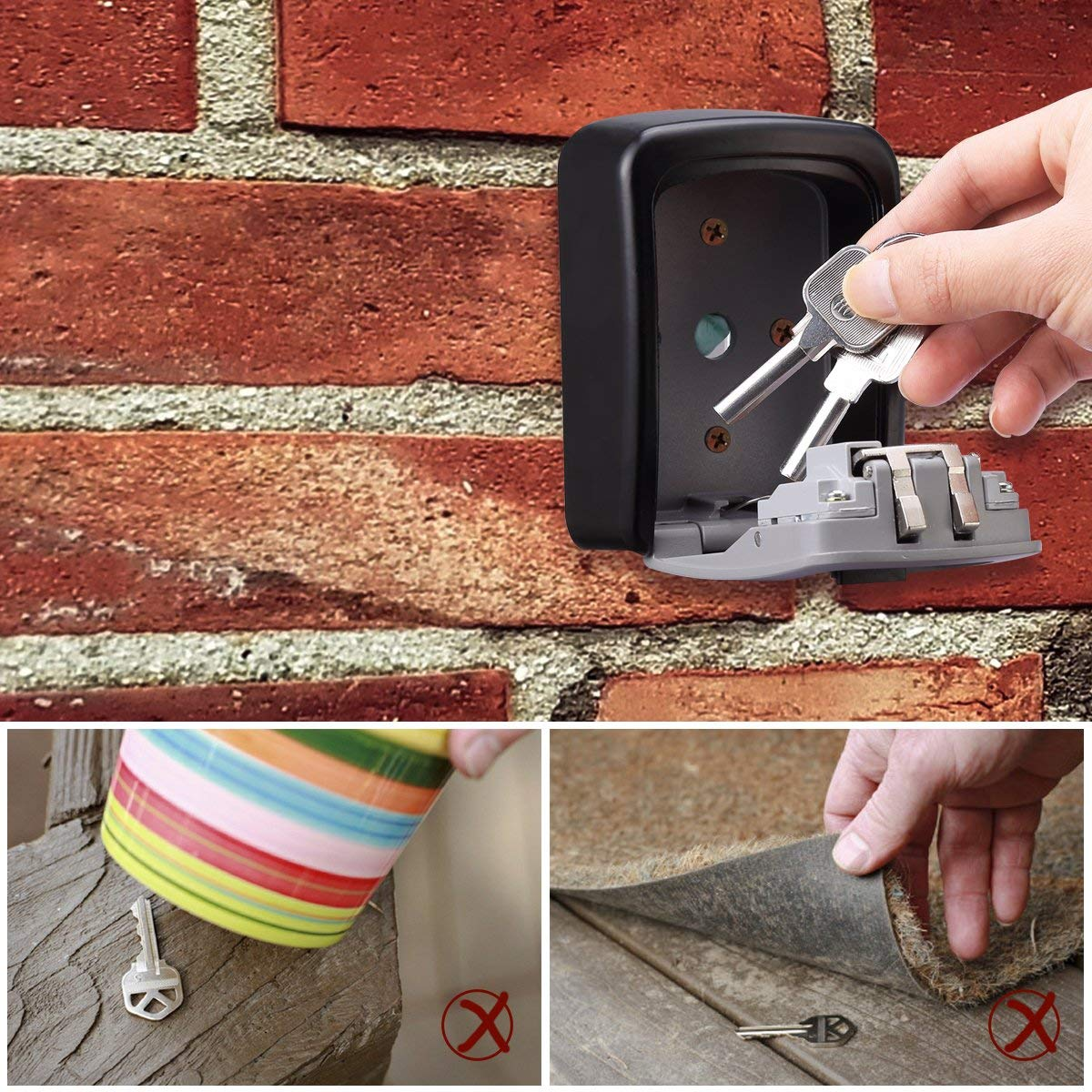 use of key lock box