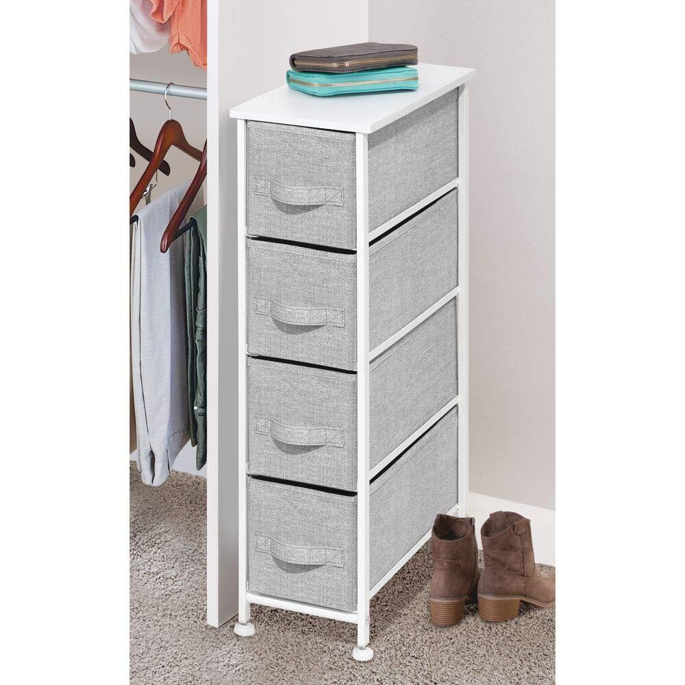 Narrow Vertical Dresser Storage for tiny house storage ideas