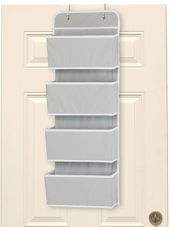 Door Wall Mount Hanging Organizer Tiny House Storage Ideas