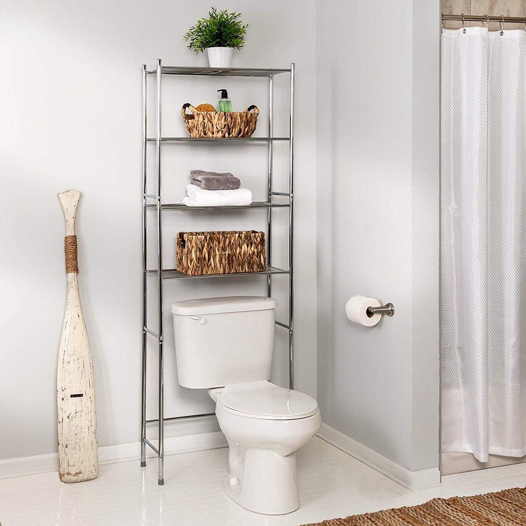 Bathroom shelf - Tiny House Storage Ideas