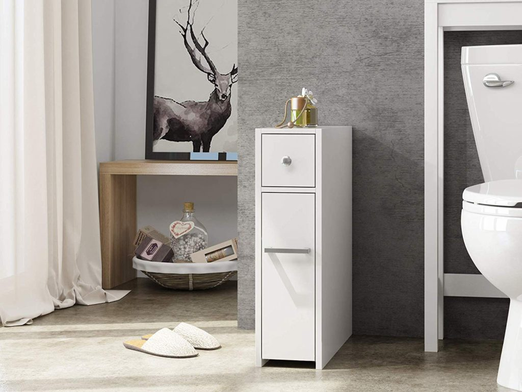 Bathroom storage cabinet for tiny house storage ideas