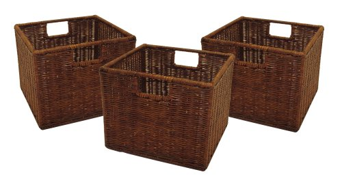 Winsome Leo Set of 3 Wired Baskets