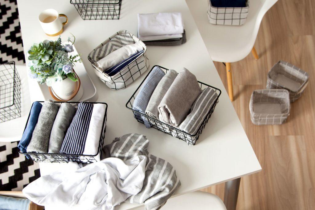 Marie Kondo tips on closet organization