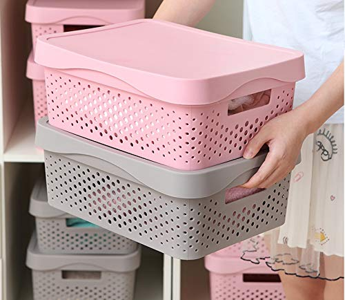 Cute plastic storage perfect for every little girl's bedroom