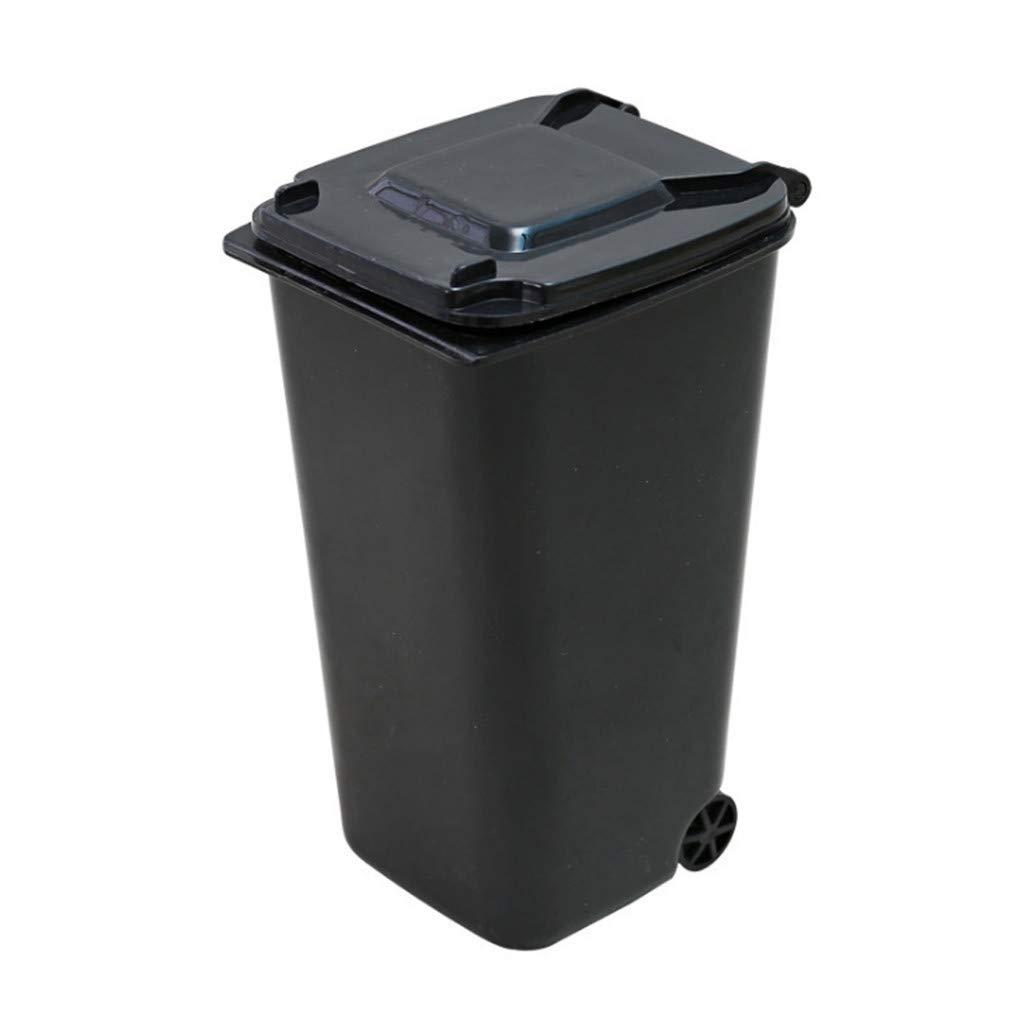 Novelty trash cash desk storage
