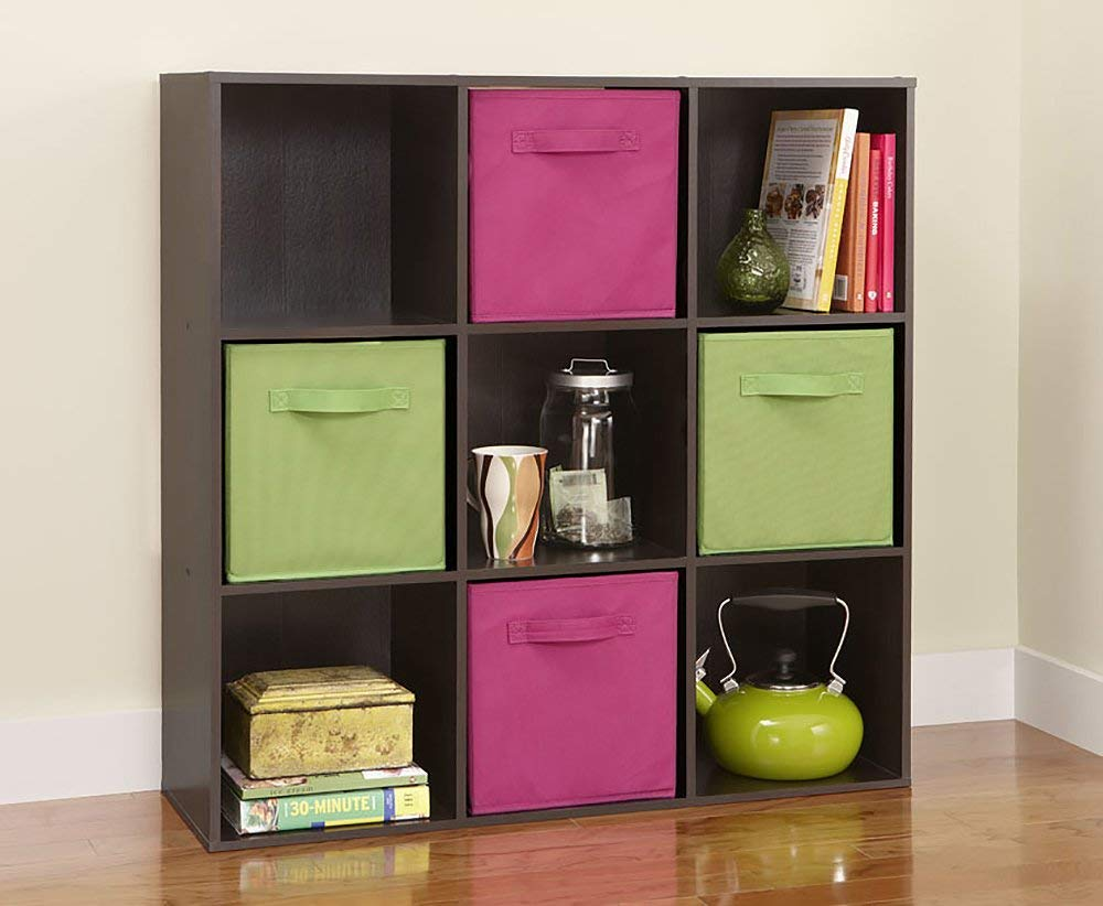 Cube storage shelves