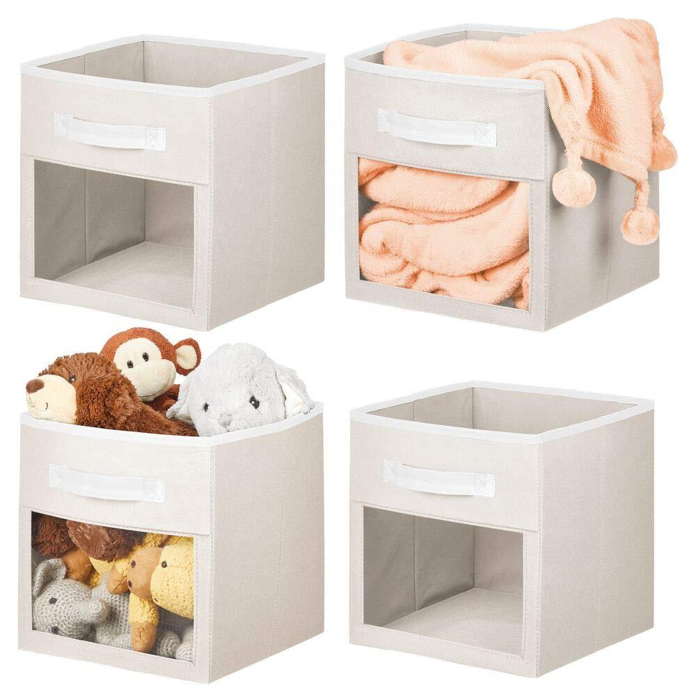 mDesign Soft Fabric Closet Storage Organizer