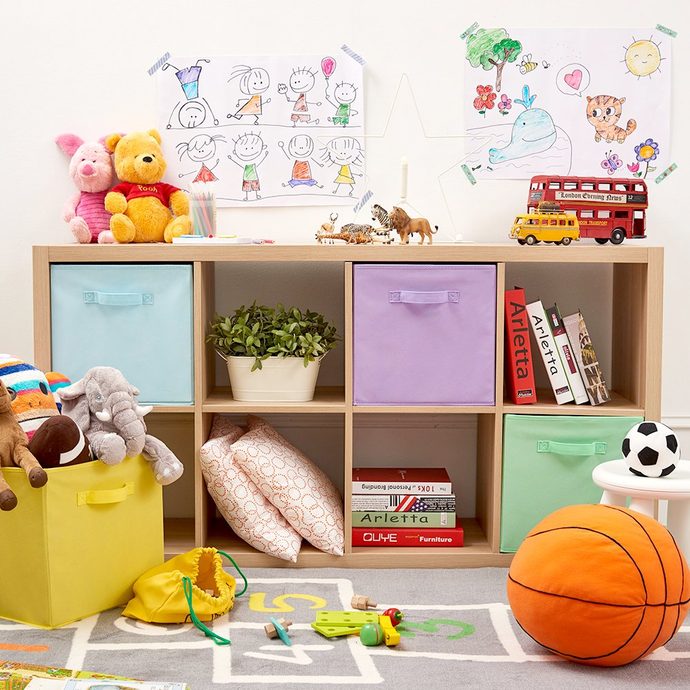 Kids toys for cube storage spaces