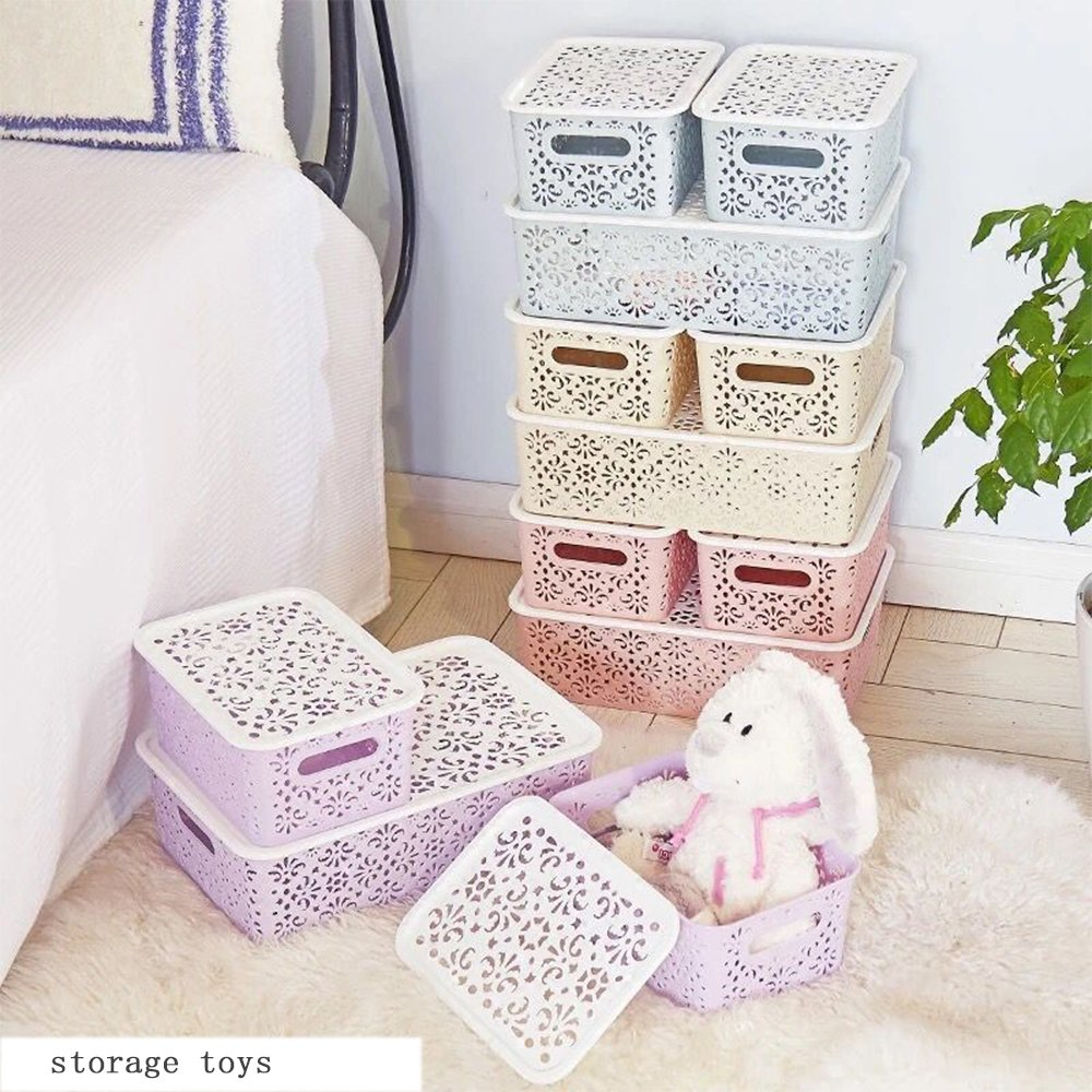 Dainty and delicate cheap plastic storage bins