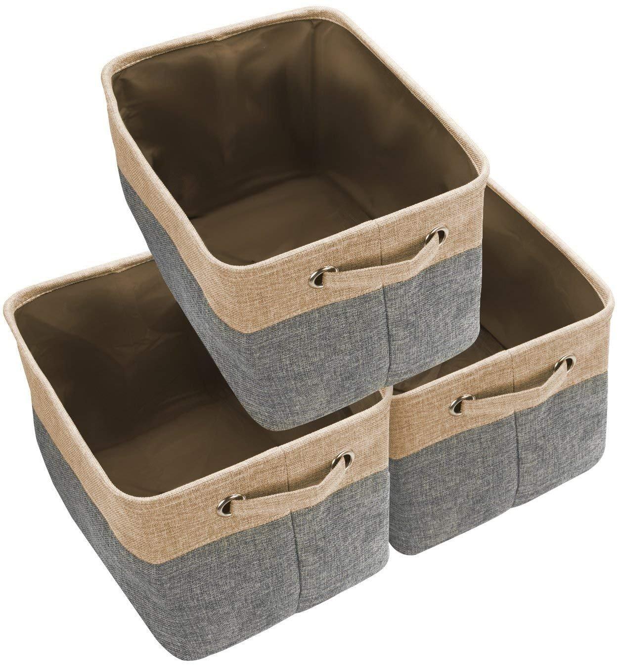 Awekris Large Storage Basket Bin Set
