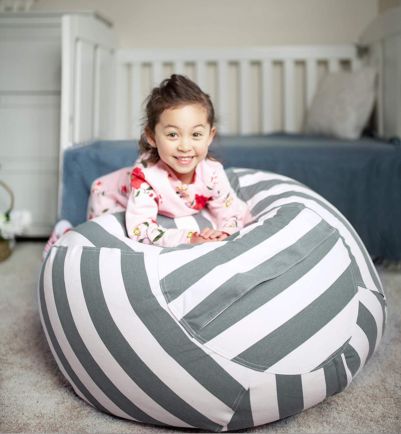 Stuffed Animal Bean Bag Chair Alternatives To Toy Boxes