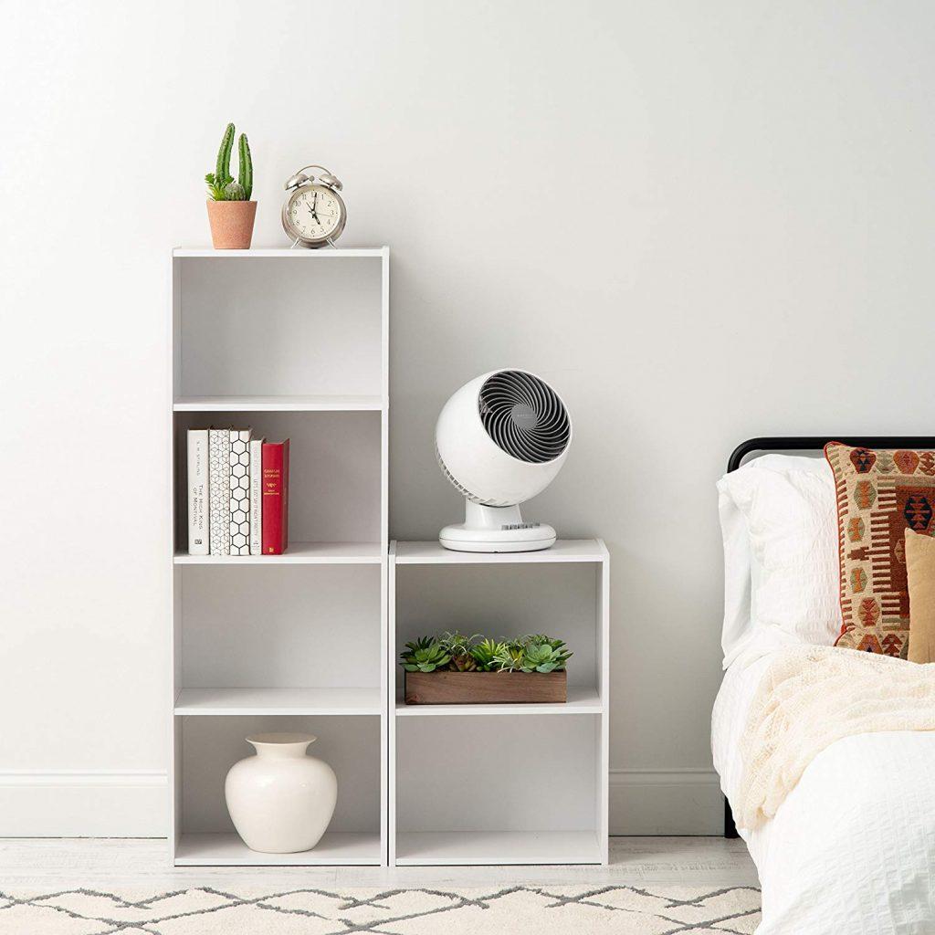 Nightstand shelves