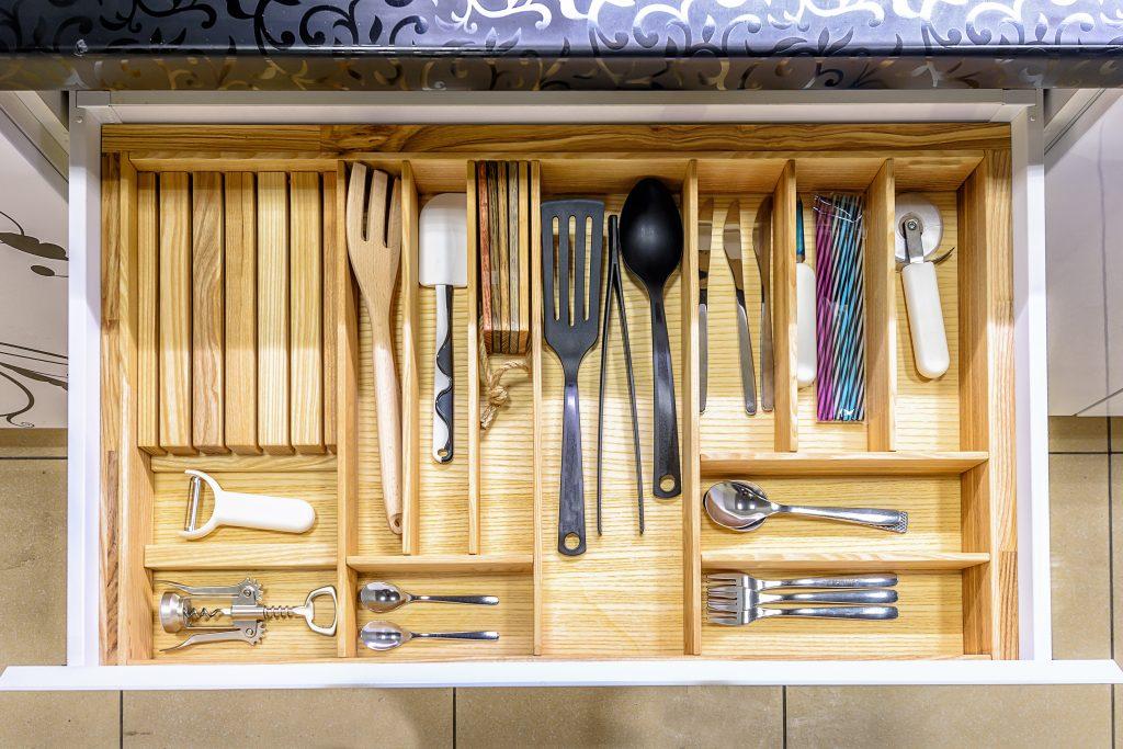 Kitchen Drawer Organization Solution