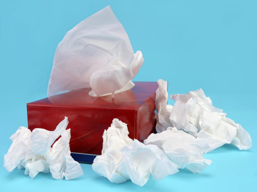 Make tissue box to good use