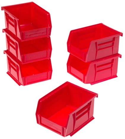 Akro-Mils Plastic Storage Stacking AkroBins (6 Pack)