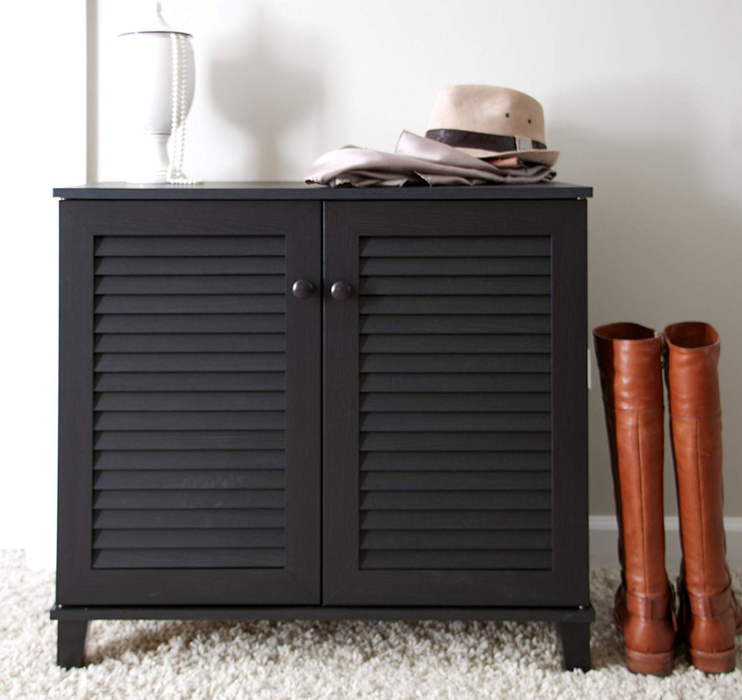 Baxton Studio Coolidge Shoe-Storage Cabinet