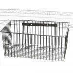 Chrome Wire Storage Baskets