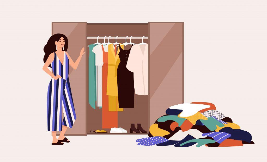 Don't clutter your closet